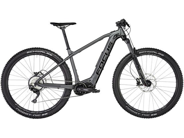 FOCUS Jam² HT 6.8 Nine E-mountainbike grå